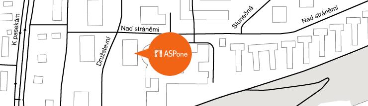 Mapa s�dla ASPone, s.r.o.